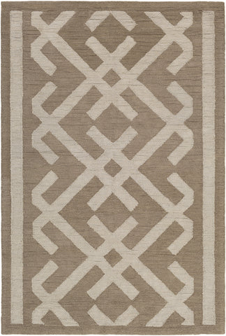 Artistic Weavers Congo Lynnie Taupe/Kelly Green Area Rug main image