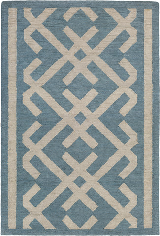 Artistic Weavers Congo Lynnie Turquoise/Beige Area Rug main image