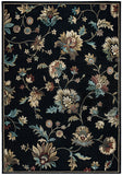 Rizzy Chateau CH4331 Black Area Rug