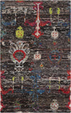 Surya Chocho CHO-9000 Black Area Rug 5' x 8'