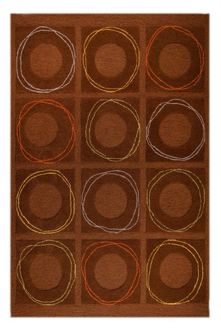 MAT Catena Circa Brown Area Rug main image