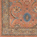 Surya Clifton CLF-1022 Rust Hand Tufted Area Rug Sample Swatch