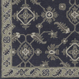 Surya Castello CLL-1000 Navy Hand Tufted Area Rug Sample Swatch