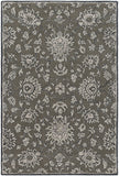 Surya Castello CLL-1002 Dark Brown Area Rug 4' X 6'