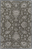 Surya Castello CLL-1002 Dark Brown Area Rug 6' X 9'