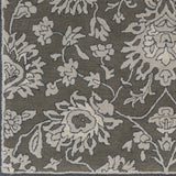 Surya Castello CLL-1002 Dark Brown Hand Tufted Area Rug Sample Swatch