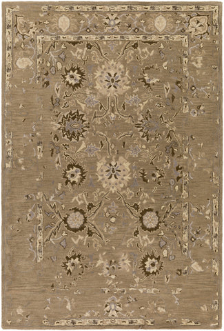 Surya Castello CLL-1016 Brown Area Rug main image