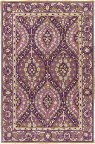 Surya Castello CLL-1023 Purple Area Rug main image