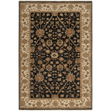 Surya Cambridge CMB-8005 Black Area Rug 5'6'' x 8'6''
