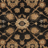 Surya Cambridge CMB-8005 Black Hand Knotted Area Rug Sample Swatch
