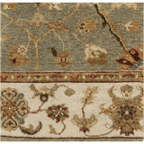 Surya Cambridge CMB-8007 Olive Hand Knotted Area Rug 16'' Sample Swatch