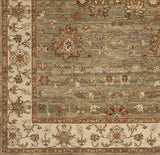 Surya Cambridge CMB-8007 Olive Hand Knotted Area Rug Sample Swatch