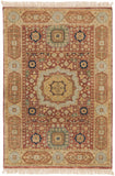Surya Cambridge CMB-8008 Rust Area Rug 2' X 3'