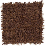 Surya Cumulus CML-2001 Chocolate Hand Woven Area Rug 16'' Sample Swatch