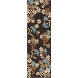 Surya Cannes CNS-5405 Chocolate Area Rug by Paule Marrot 2'6'' x 8' Runner