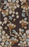 Surya Cannes CNS-5405 Chocolate Area Rug by Paule Marrot