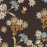 Surya Cannes CNS-5405 Chocolate Hand Hooked Area Rug by Paule Marrot Sample Swatch