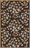 Surya Cannes CNS-5406 Chocolate Area Rug by Paule Marrot 5' x 8'