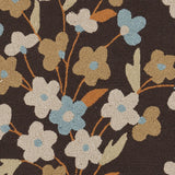 Surya Cannes CNS-5406 Chocolate Hand Hooked Area Rug by Paule Marrot Sample Swatch