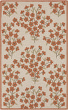 Surya Cannes CNS-5407 Rust Area Rug by Paule Marrot 5' x 8'