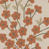 Surya Cannes CNS-5407 Rust Hand Hooked Area Rug by Paule Marrot Sample Swatch