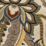Surya Centennial CNT-1081 Olive Hand Tufted Area Rug Sample Swatch