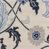 Surya Centennial CNT-1096 Navy Hand Tufted Area Rug Sample Swatch