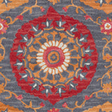 Surya Centennial CNT-1101 Rust Hand Tufted Area Rug Sample Swatch