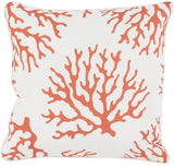 Surya Coral CO004 Pillow 16 X 16 X 4 Poly filled