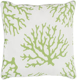 Surya Coral CO006 Pillow 20 X 20 X 5 Poly filled