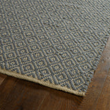 Kaleen Colinas COL03-103 Slate Area Rug Close-up Shot