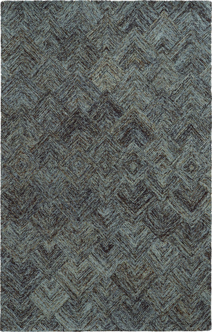 Pantone Universe Colorscape 42110 Charcoal/Blue Area Rug main image