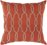 Surya Gates Glamorous Geometric COM-005 Pillow 18 X 18 X 4 Down filled