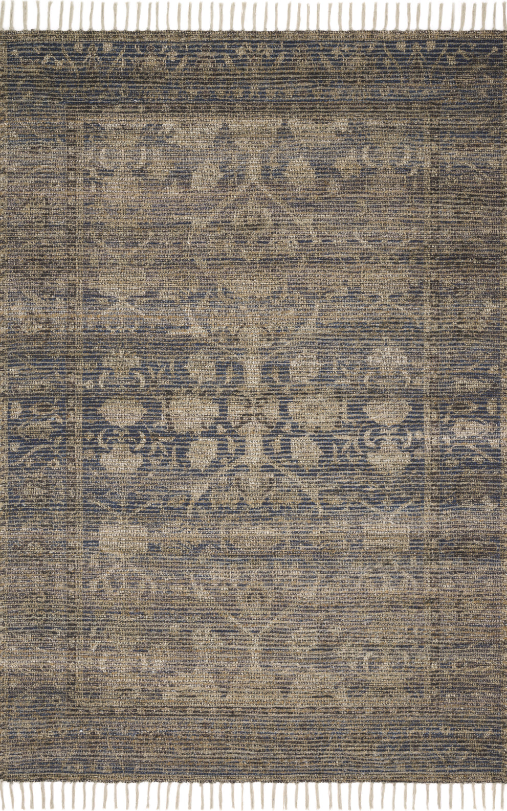 Loloi Cornelia COR-02 Indigo/Natural Area Rug by Justina Blakeney main image