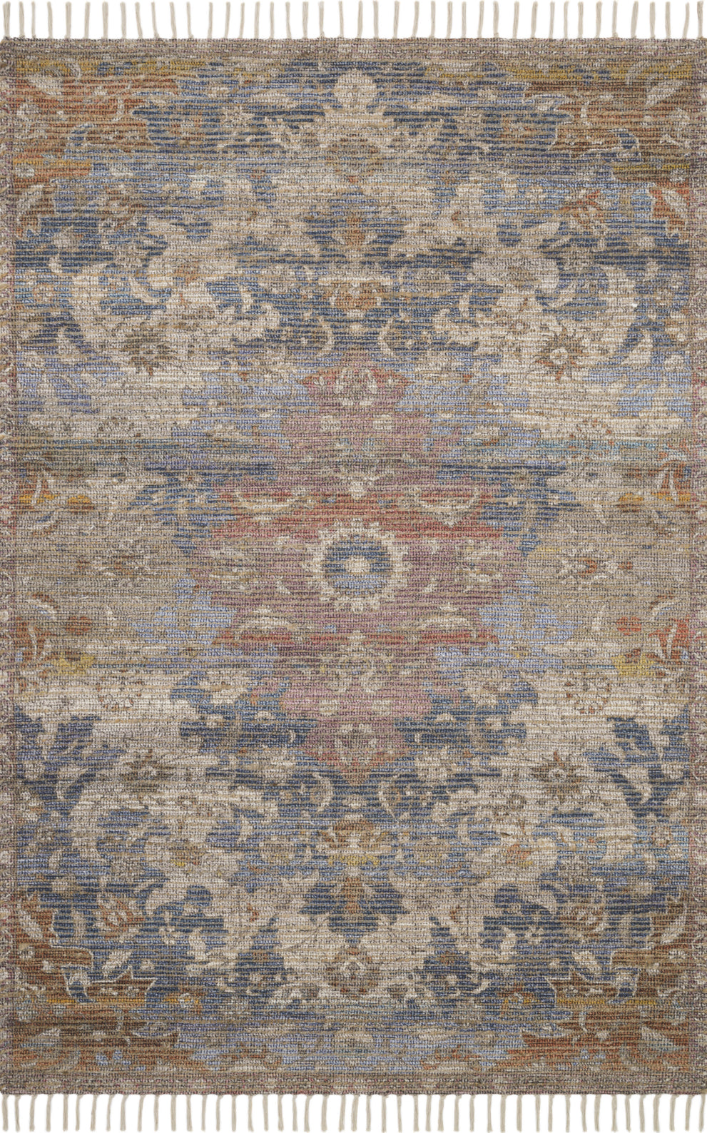 Loloi Cornelia COR-06 Denim/Multi Area Rug by Justina Blakeney main image