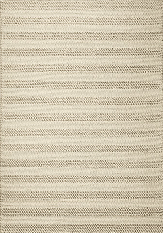 KAS Cortico 6155 Winter White Hand Woven Area Rug