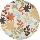 Surya Cosmopolitan COS-8926 Light Gray Area Rug 8' Round
