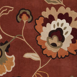 Surya Cosmopolitan COS-9105 Rust Hand Tufted Area Rug Sample Swatch