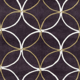 Surya Cosmopolitan COS-9191 Eggplant Hand Tufted Area Rug Sample Swatch