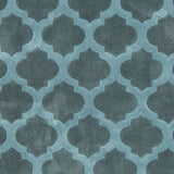 Surya Cosmopolitan COS-9225 Teal Hand Tufted Area Rug Sample Swatch
