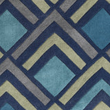 Surya Cosmopolitan COS-9273 Navy Area Rug Sample Swatch