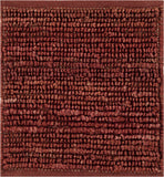 Surya Continental COT-1942 Burgundy Hand Woven Area Rug 16'' Sample Swatch