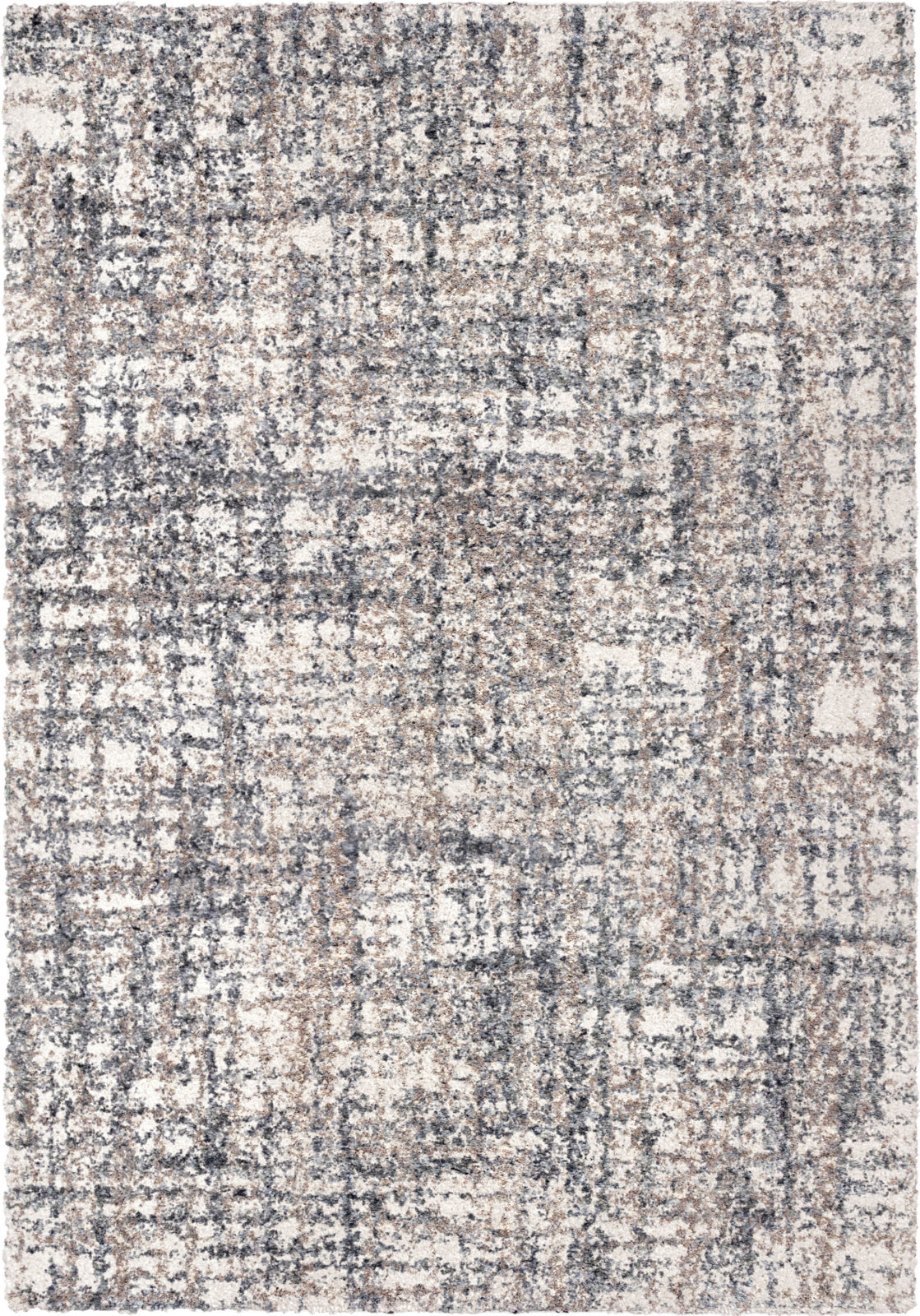 Orian Rugs Cotton Tail Cross Thatch Taupe Area Rug by Palmetto Living main image