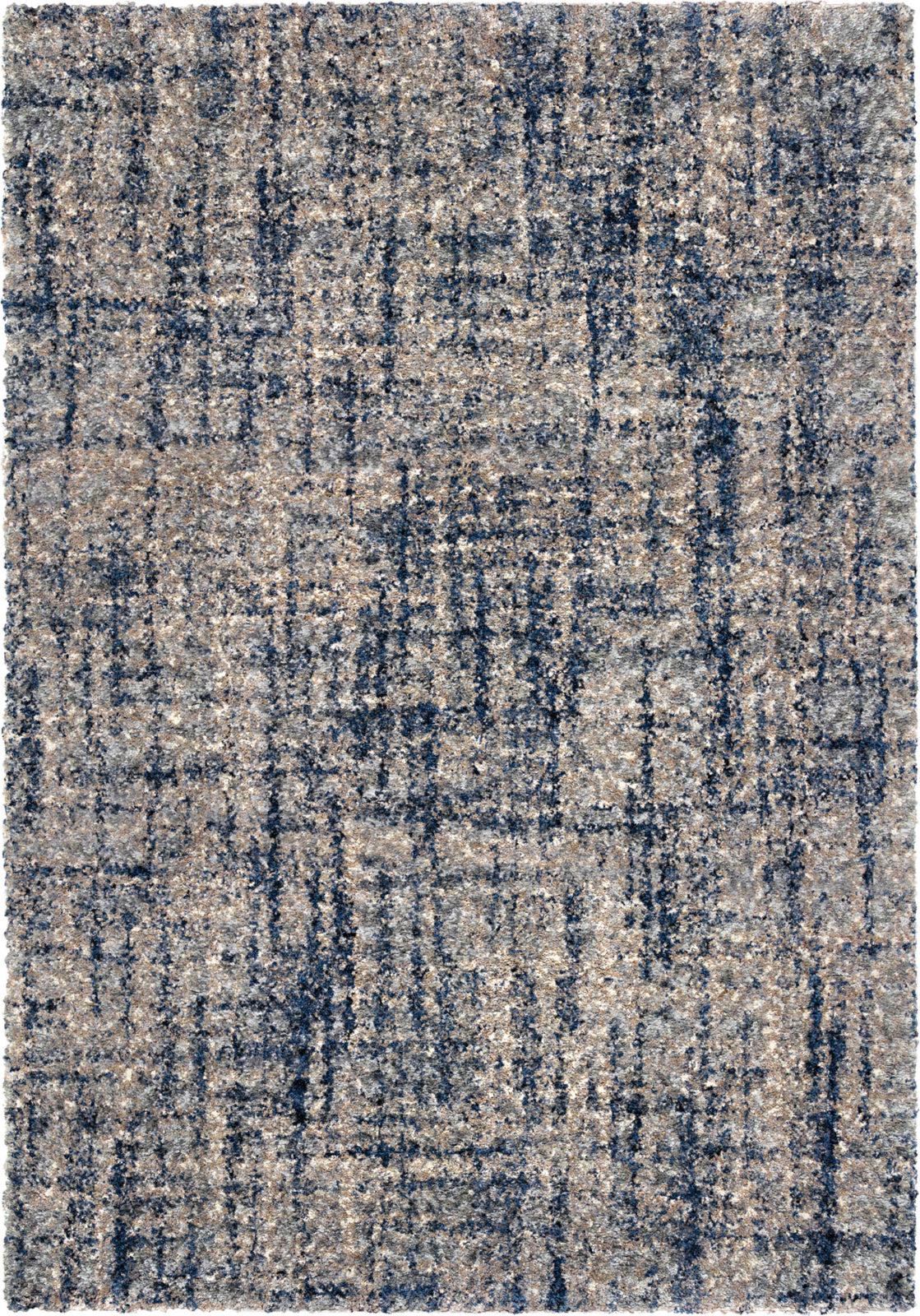 Orian Rugs Cotton Tail Cross Thatch Grey Area Rug by Palmetto Living main image