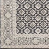 Surya Cappadocia CPP-5000 Charcoal Hand Knotted Area Rug Sample Swatch