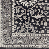 Surya Cappadocia CPP-5003 Black Hand Knotted Area Rug Sample Swatch