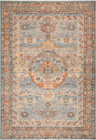 Surya Cappadocia CPP-5028 Aqua Denim Sea Foam Khaki Taupe Ivory Camel Peach Bright Yellow Charcoal Area Rug main image