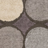 Surya Concepts CPT-1737 Dark Brown Area Rug Sample Swatch