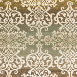 Artistic Weavers Crete Elise Green Multi Area Rug Swatch