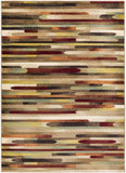 Artistic Weavers Crete Jade Red Multi Area Rug main image